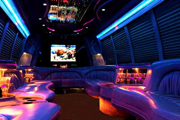 18 Passenger Party Bus Rental Fort Worth